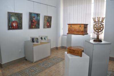 Виставка робіт самобутнього мистецтва Гуцульщини