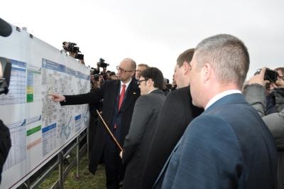 Прем'єр-міністр України Арсеній Яценюк побував на Прикарпатті