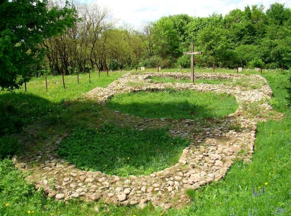 Фундамент церкви пророка Іллі
