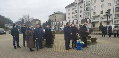 Галичани вшанували пам'ять Тараса Шевченка