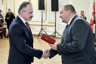 Галицького краєзнавця нагороджено за встановлення прізвищ полеглих в ПСВ та збереження пам'яті про них
