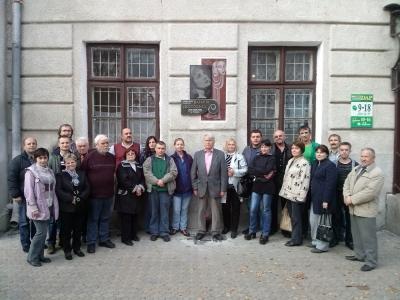 Заньківчани вшанували пам'ять актриси
