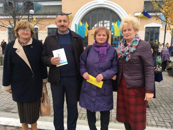 У Галичі урочисто відкрили меморіальну дошку Іванові Мирону