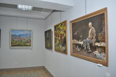Твори корифеїв українського мистецтва в Галичі