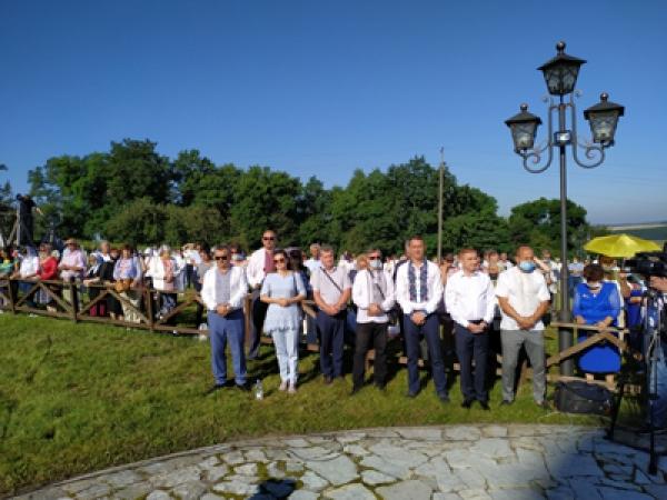 Вшанували князя Української Церкви
