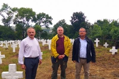 Українські та угорські науковці відвідали Галич як місце пам'яті  Першої світової війни