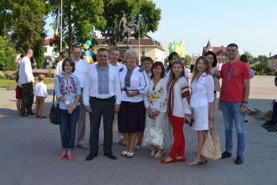 Відзначення Дня Державного Прапора України в Галичі