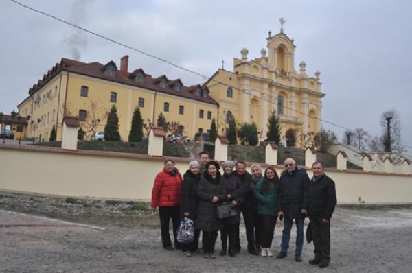 Колеги з Національного Києво-Печерського історико-культурного заповідника оглянули пам'ятки Давнього Галича
