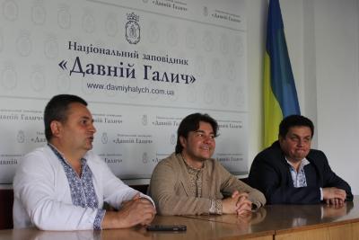 Давній Галич відвідав міністр культури Євген Нищук