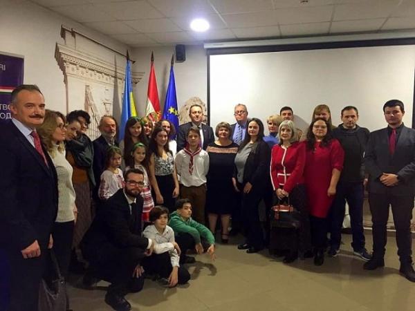 Науковці Заповідника взяли участь в урочистостях угорської громади Прикарпаття